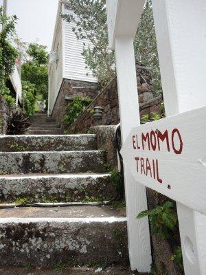 Trappene opp til El Momo