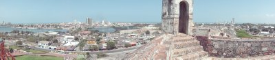 utsikt fra Castillo de San Felipe de Barajas1