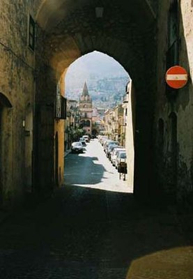 Town of Castelbuono, Sicily