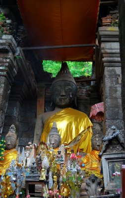 Buddha Image at Prasart hin WatPhu