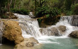 Kuangsi Waterfalls, Luang Prabang, Laos