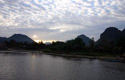 Kayaking and Trekking in Vang Vieng, Laos
