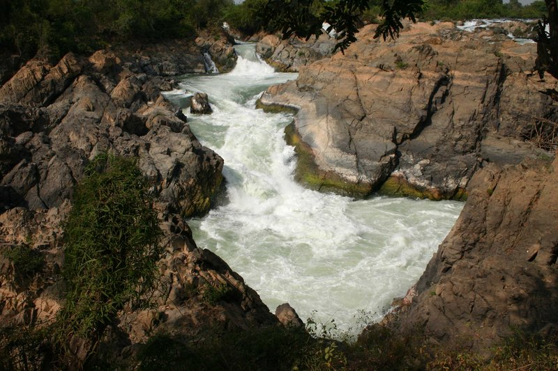 Liphii Waterfalls, Don Khon, Four Thousand Islands, Champasak, Laos