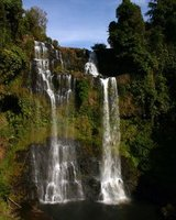 Waterfalls on the Bolaven Plateau, Champasak, Southern Laos