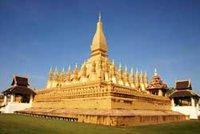That Luang Temple in Vientiane, Laos