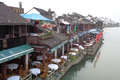 More canal side restaurants.