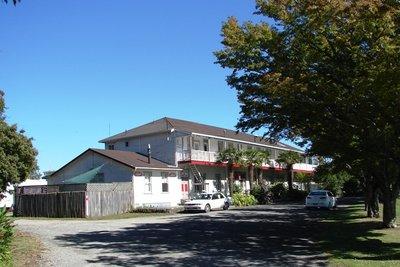 The Te Puia Springs Hotel.