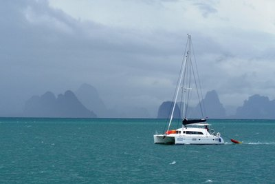 The islands near Phuket.