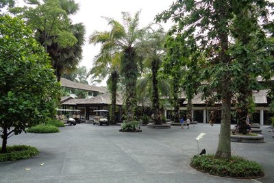 The botanical gardens.