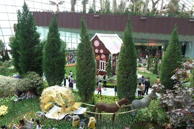 More displays at the gardens.
