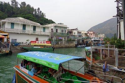 Tai O village, Lantau Island.