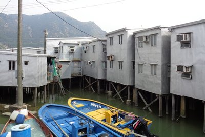 Typical houses in Tai O.
