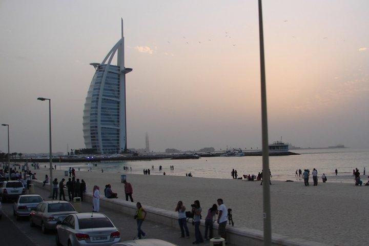 The Burj al Arab.