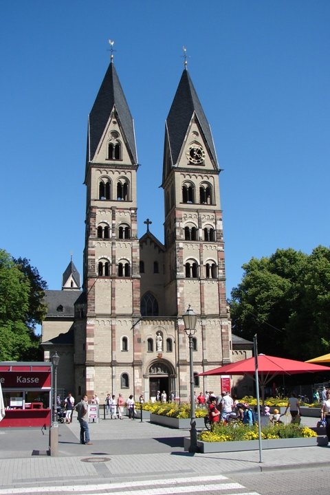 The Basilica St Kastor.