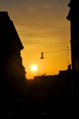 Roman Street Light