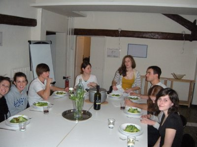 Our First Group Dinner