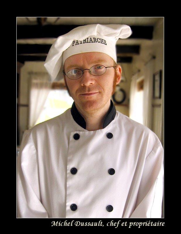 Chef Du Restaurant Bistro Le Patriarche - La Malbaie