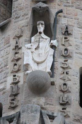Sagrada Familia, began being built in 1882