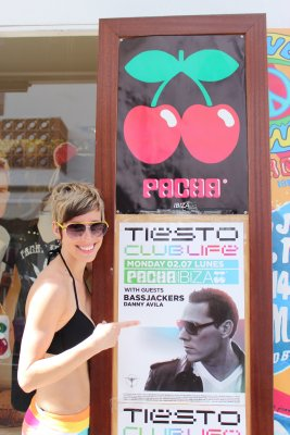 Tiesto in Ibiza... I was there!