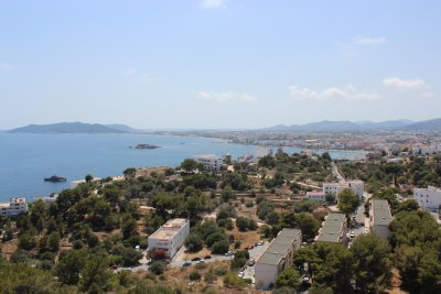 The Evissa coastline