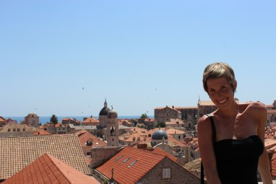 Ana and the rooftops