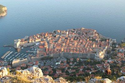 More birds eye views of Dubrovnik