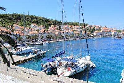 Korčula's bay