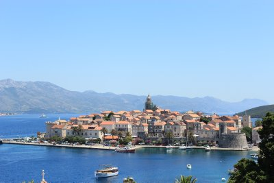 The little island of Korčula