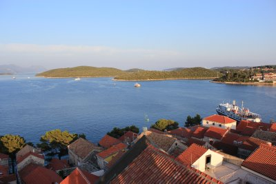 Some of Croatia's many islands