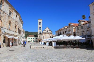 Hvar's central square