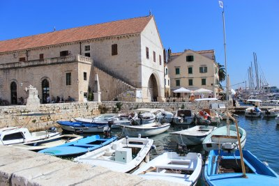 Harbour of Hvar