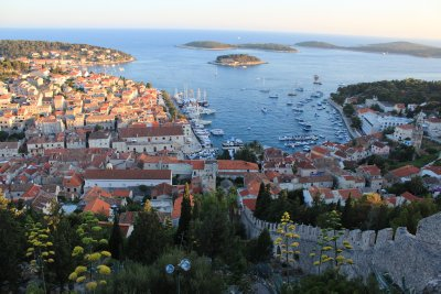 Beautiful views of Hvar