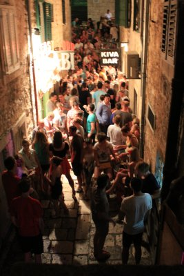 Hvar's vibrant night life