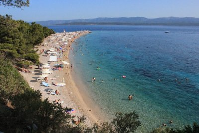 Another view of Zlatni Rat