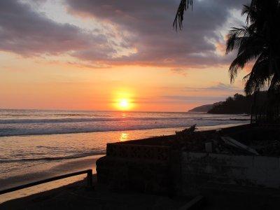 El Zonte's sunset