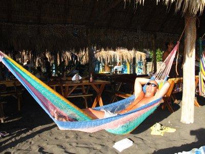 Andrew Relaxing
