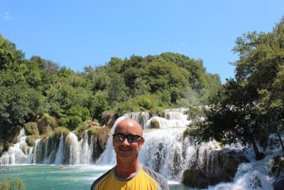 Andrew at Krka National Park