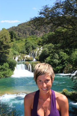 Ana at Krka National Park