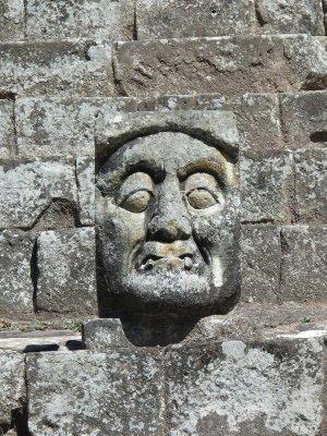 Mayan carvings amazingly intact