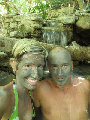 Natural mud masks