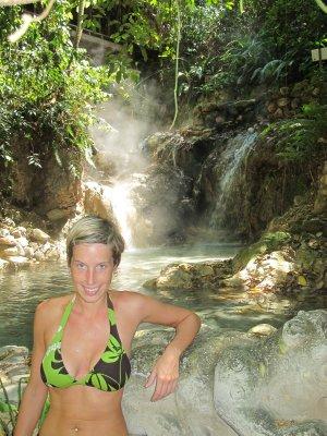 Ana at the Aguas Termales