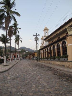 Copan streets