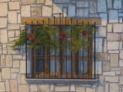Copán windows
