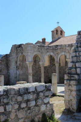 Ruins in Rab