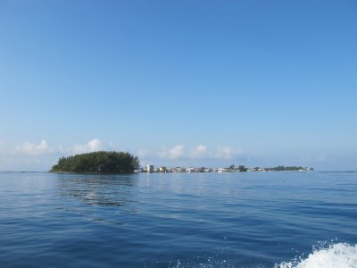 Jewel Cay upon arrival