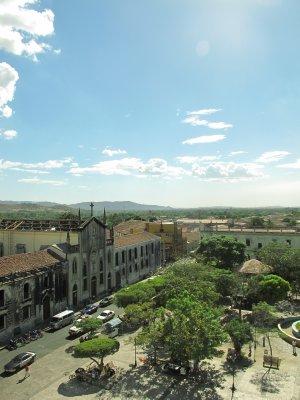Leon's central square