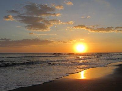 Sunset at Las Penitas
