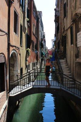 Ana in Venice