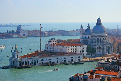 Punta della Dogana and the Church of Santa Maria della Salute
