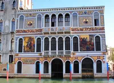 Palaces along the Canal Grande